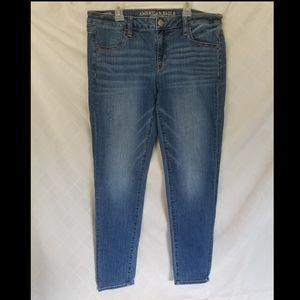 American Eagle Jeans Super Low Jegging 12